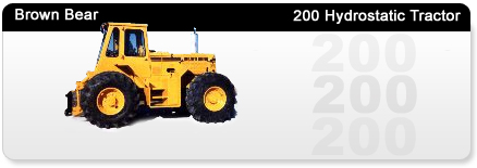 200 Hydrostatic Tractor